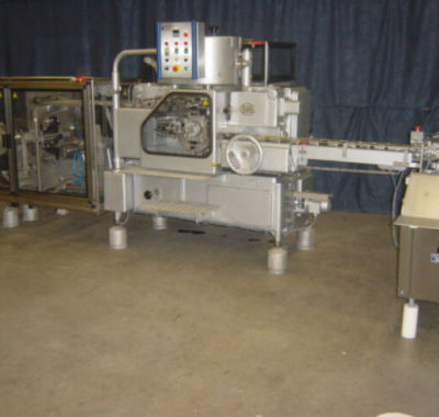 SIG F100/ Ecopack F100 automatic packing/wrapping machine of butter or margarine