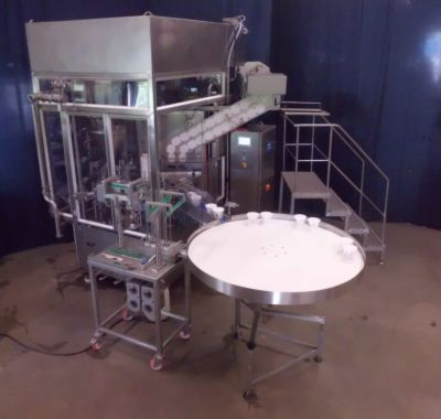 filling and packaging machine