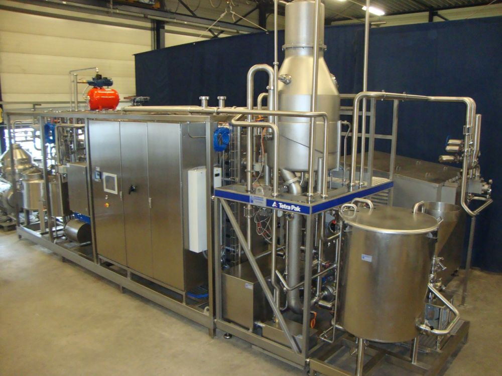 Pasteurisation, sterilisation, cooling and heating