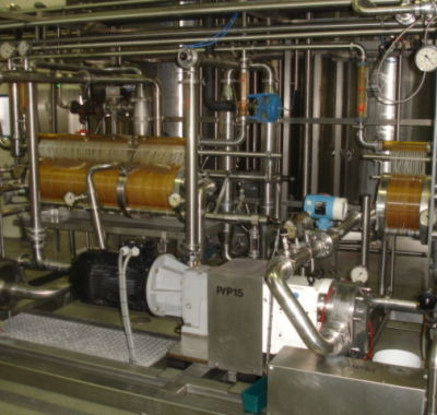 creamcheese ultrafiltration unit