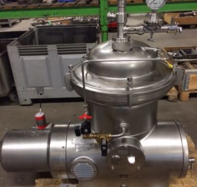 Reconditioned Westfalia KSA6 Separators