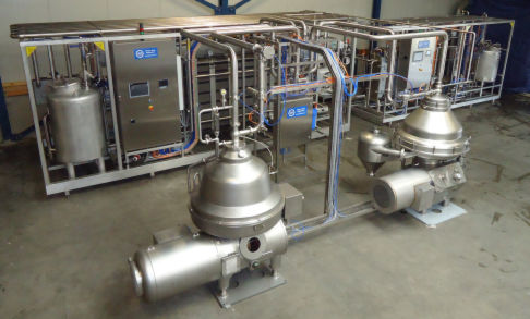 Full automatic pasteurizer finished