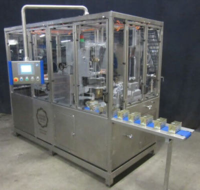 Benhil Multipack 8345 automatic packing/wrapping machine of butter or margarine