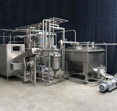 GEA Ahlborn CBM Butter packaging machine