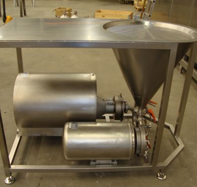 evaporators, powder dosing and packaging, powder dissolvers
